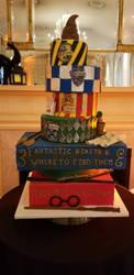 Harry Potter cake showpiece  by BaleeCrysta