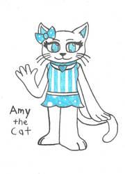 Amy the Cat by FoxBoyKonogo