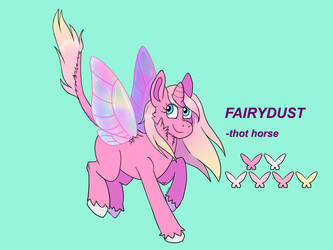 Fairydust New Ref by stryx-nocturna
