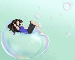 Simple Pleasures- Bubbles by Lillithia