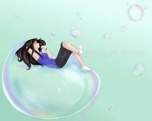 Simple Pleasures- Bubbles by Lillithia