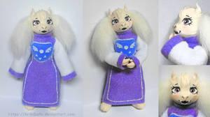 Undertale Tori Doll by krikdushi