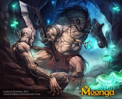 Hunter Troll by Chaos-Draco