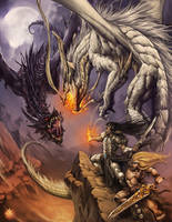 Wyvern Hunters First Realm saga by Chaos-Draco