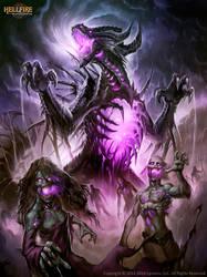 Terrandor HellFire the Undead king by Chaos-Draco