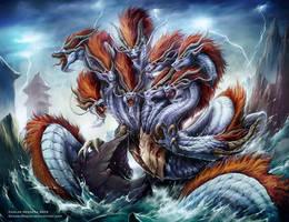 Kuzuryu by Chaos-Draco