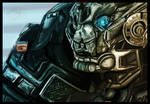 IronHide!!!! Gift by TheJasIllustrator