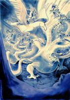 Hercules vs Hydra by Zuccarello
