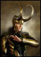 Loki Laufeyson by chermilla