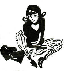 Charlotte Sketch by DisintegrationStreet