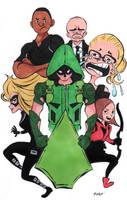 Team Arrow by DisintegrationStreet