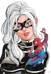 Black Cat and Spider Man by DisintegrationStreet