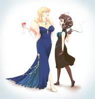 Piper and Vivian by BritishMuffin