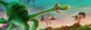 The Good Dinosaur by Seabasss