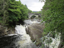 Waterfall bridge 3 by Squwerty