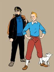 Tintin by Practicecactus