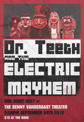 Dr. Teeth and the Electric Mayhem by Practicecactus