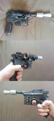 Dl-44 Blaster ESB by Practicecactus