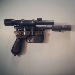 Han Solo Blaster ANH by Practicecactus