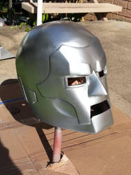 Doctor Doom helmet by Practicecactus