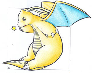Star - Dragonite .:colour:. by Fluna