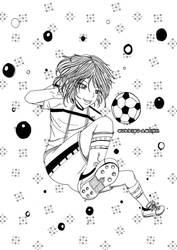 chica manga futbol by sorriso-ayumu