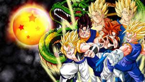 Fusion dragon ball wallpaper by vuLC4no