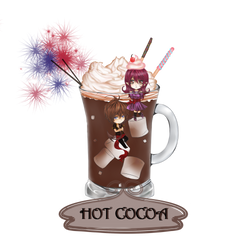 Echolis Cup Collab: Hot Cocoa by LilKryChan
