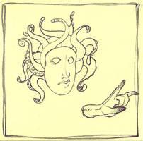 Medusa 1 by qrowdad