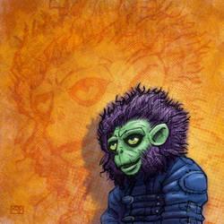 Tim's Monkey by qrowdad