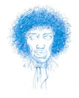jimi sketch by qrowdad