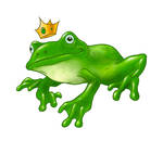 FrogPrince-1 by qrowdad