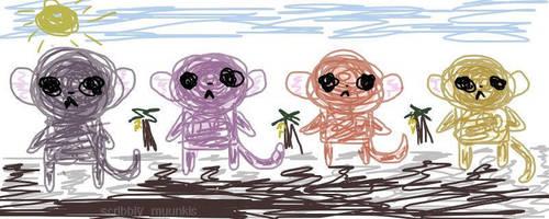 Muunki World Friends by KialaSohma