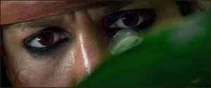 Sparrow's eyes by ecilARose