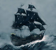 The Black Pearl by ecilARose