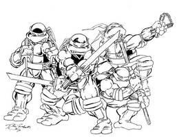 Teenage Mutant Ninja Turtles by Y2Dane