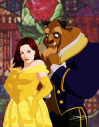 Kristen and the Beast by Y2Dane