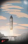 Sunrise liftoff by Tedwin-Knockman66