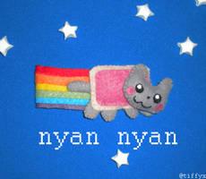 Nyan Nyan Nyan Nyan Cat by Tiffyx