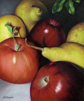 Pears and Apples by Acacia13