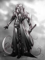 Sephiroth :God of War by teamsugoi1