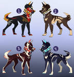 Canine Adopts [1/4 Open] by Bae-Adopts