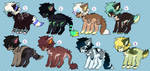 PupperDopts [2/8 Open] by Bae-Adopts