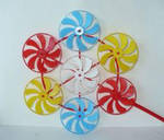 Pinwheel Flowers by atkins29323