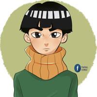 Metal Lee Boruto Naruto next generation by Twinscomics