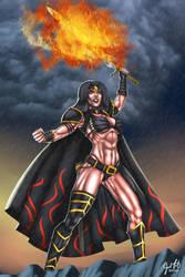 Lady Immolatasia by JosFouts