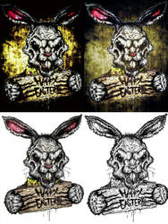 Monstrous Easter - from page to polished by LeisureSuitLucifer