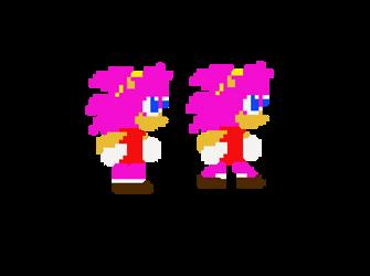 GCH Sprite (Walk Sheet) by GamingChiliHedgehog