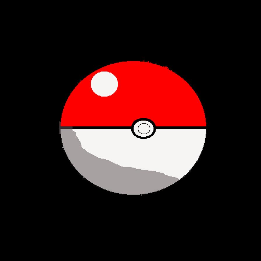 Poke Ball (Pixel Art) by GamingChiliHedgehog