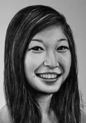 portrait 1 of girlfriend by sunohc